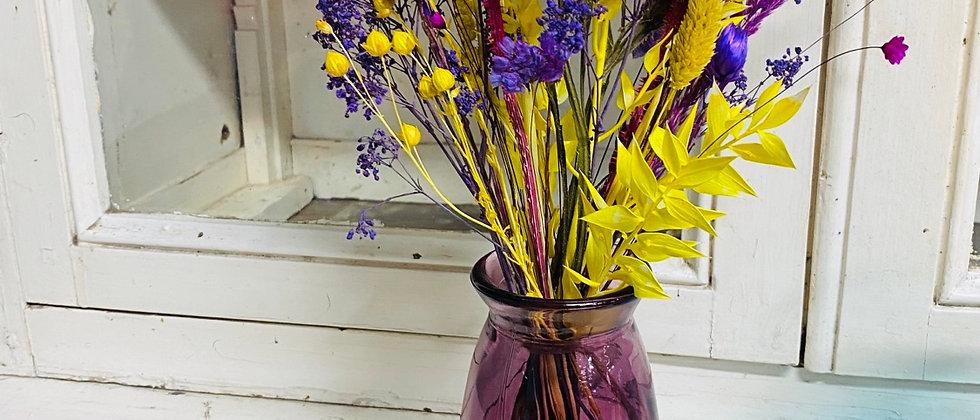 Mini Vase fleuri pepsi