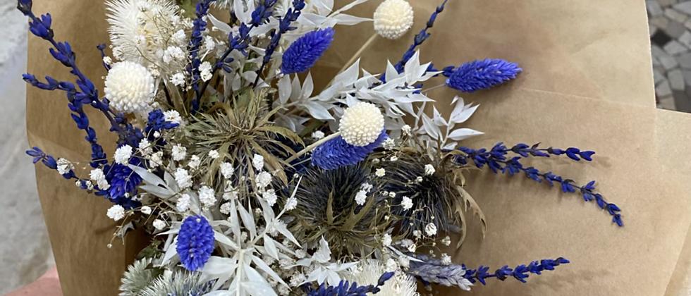 Bouquet Blanc bleu
