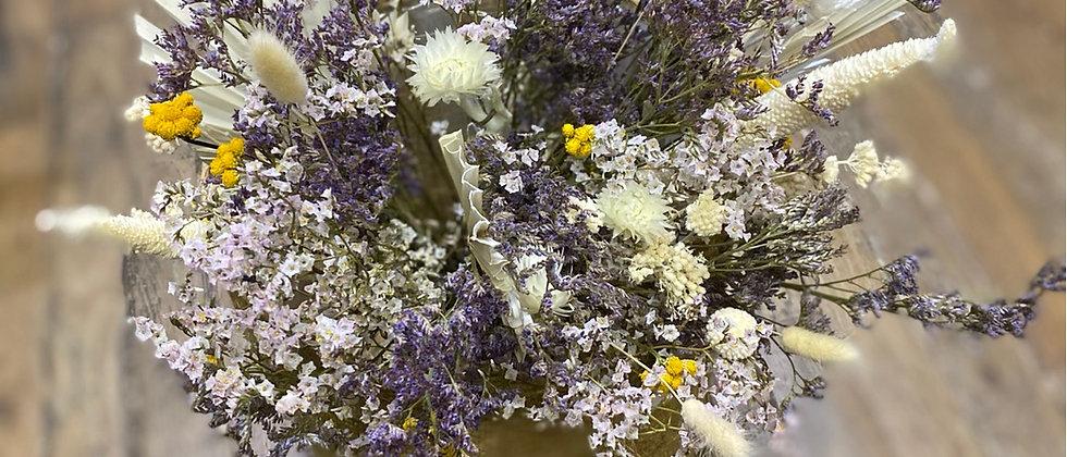 Bouquet des champs touche violet
