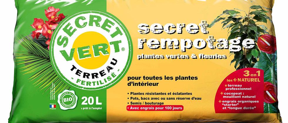 Terreau pour plantes d'intérieur