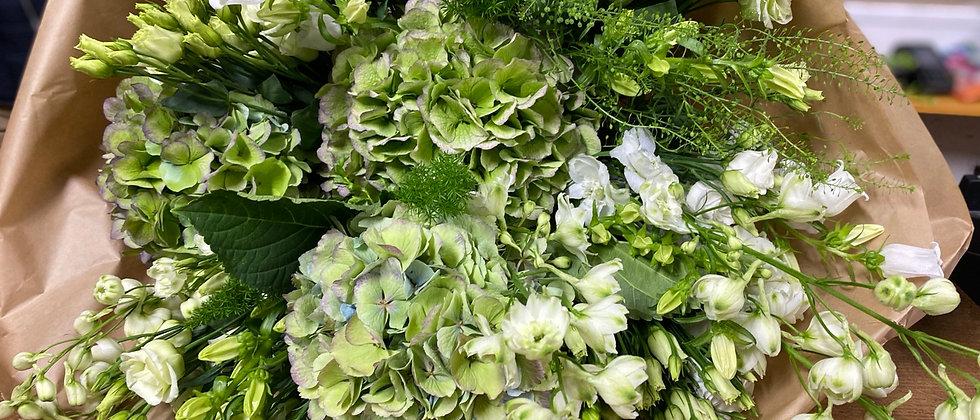 Bouquet de saison blanc
