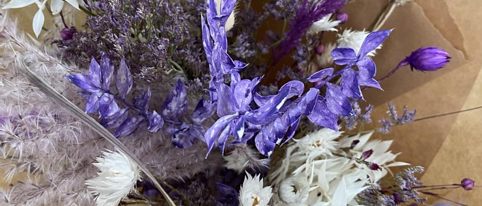 Bouquet Blanc violet