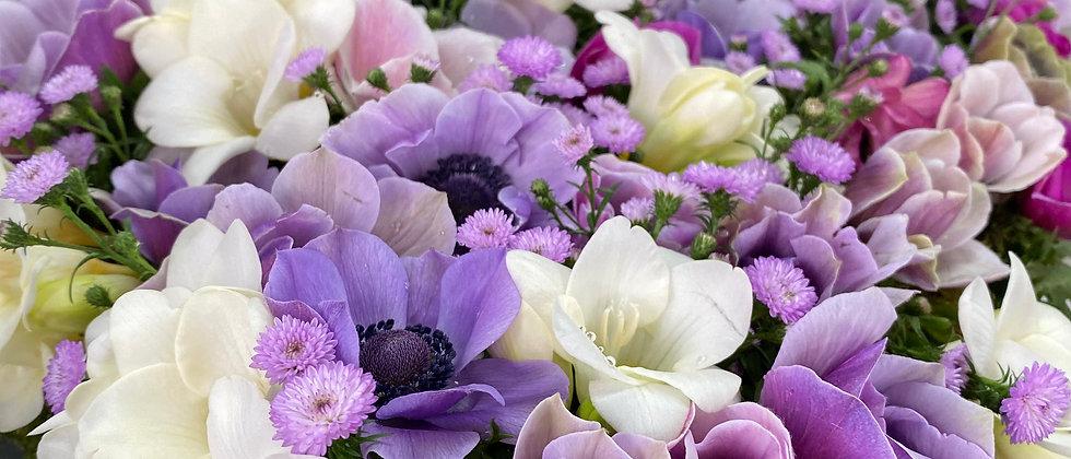 Coeur moyen multi fleurs
