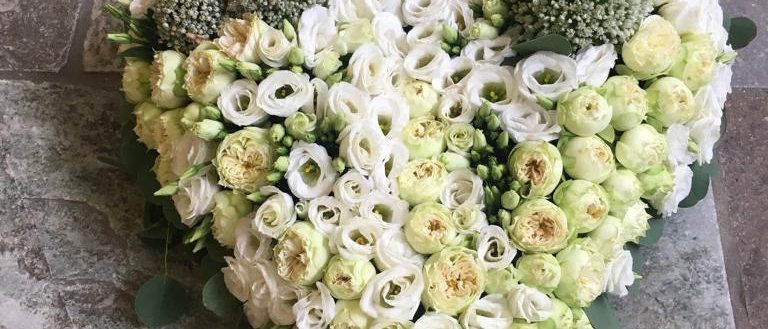Grand coeur multi fleurs