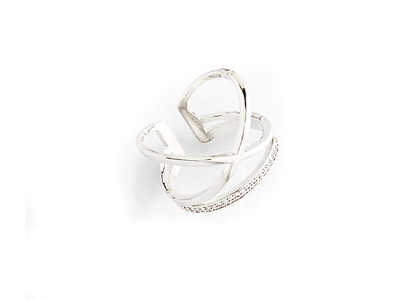 N&B Cross My Heart Ring