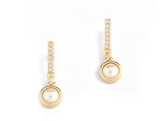 N&B Monaco Pearl Drop Earrings
