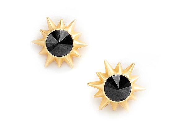 N&B Black Hole Sun Earrings
