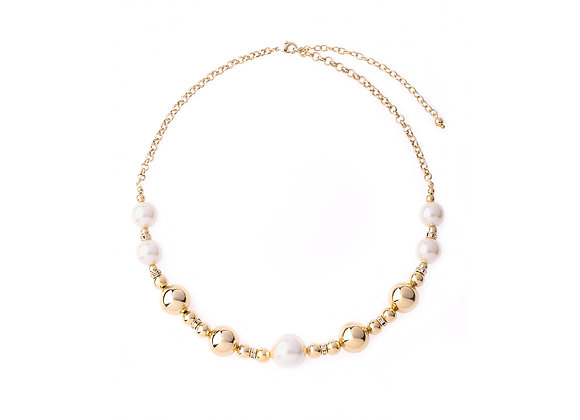N&B Beaded Necklace