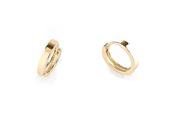 N&B Hoop Earrings