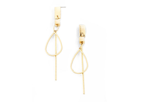N&B Pole Earrings