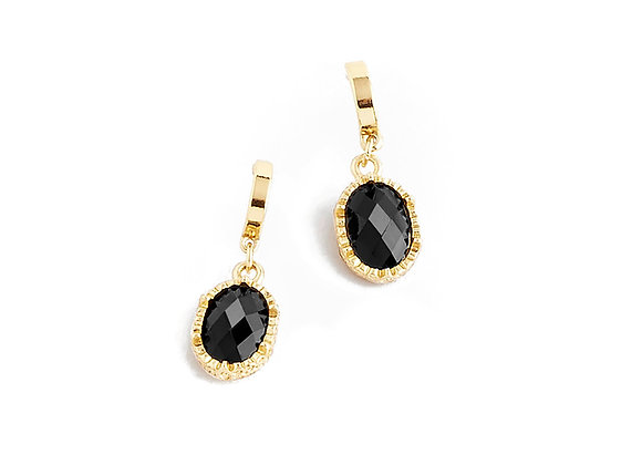 N&B Golden Abyss Drop Earrings