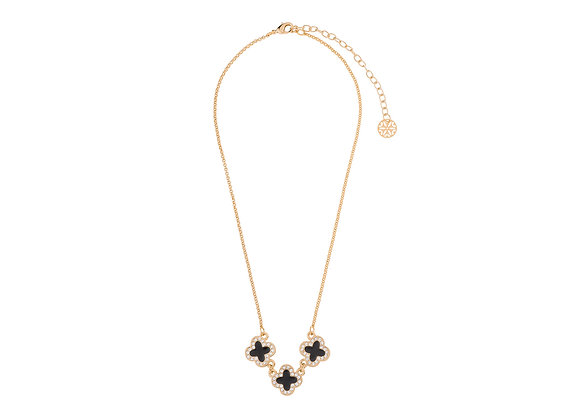 N&B Floral Necklace