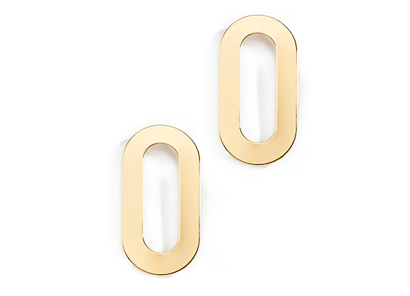 N&B Heidi Statement Earrings