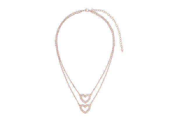 N&B Venus Heart Necklace