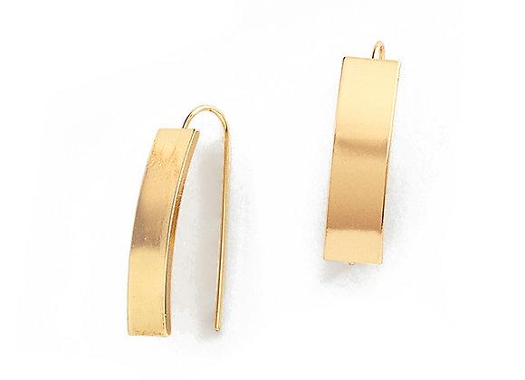 N&B Flume Hook Earrings
