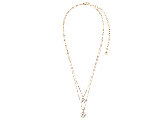 N&B Double Flash Necklace