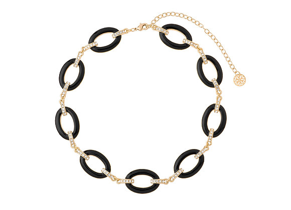 N&B Circle Necklace