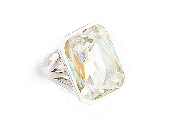 N&B Crystal Stone Ring