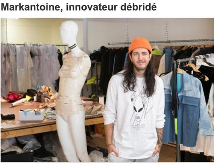 Markantoine, innovateur débridé.