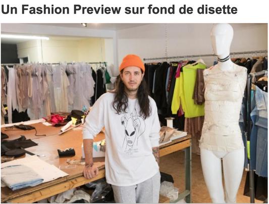 Un Fashion Preview sur fond de disette