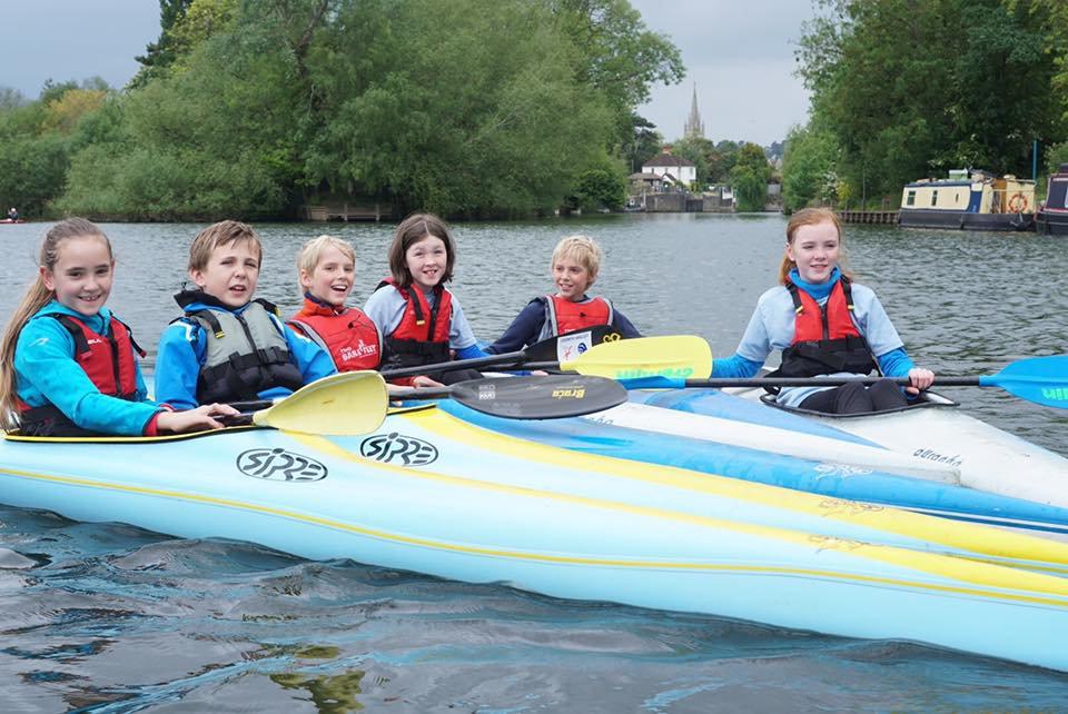 Discover Award - age 12-16 Racing Kayak