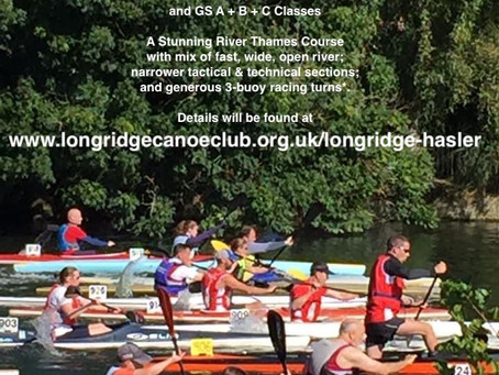Excited to announce the return for 2022 of Longridge Canoe Club's Hasler Race!