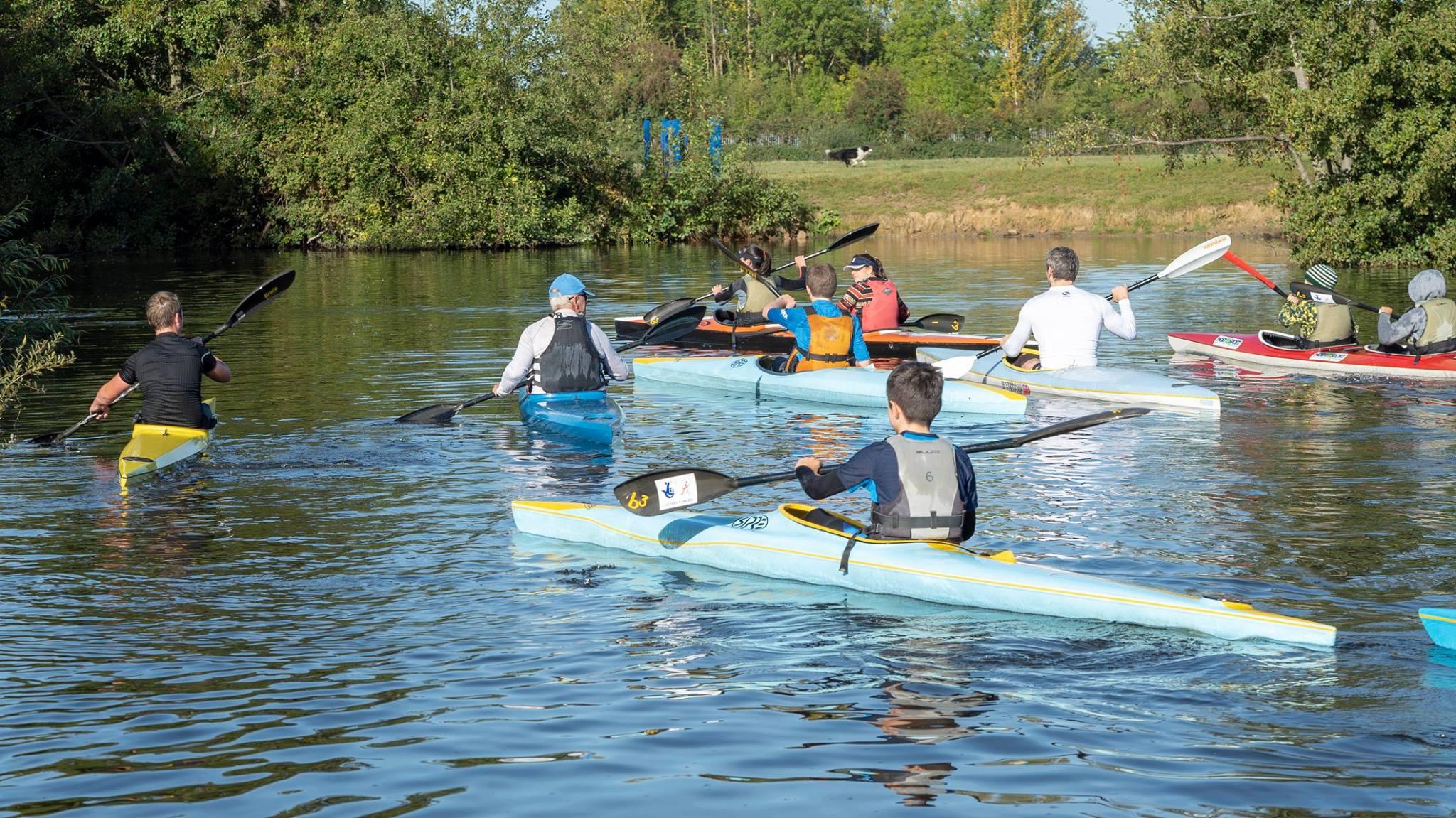 Discover Award - Adult(16+) Racing Kayak