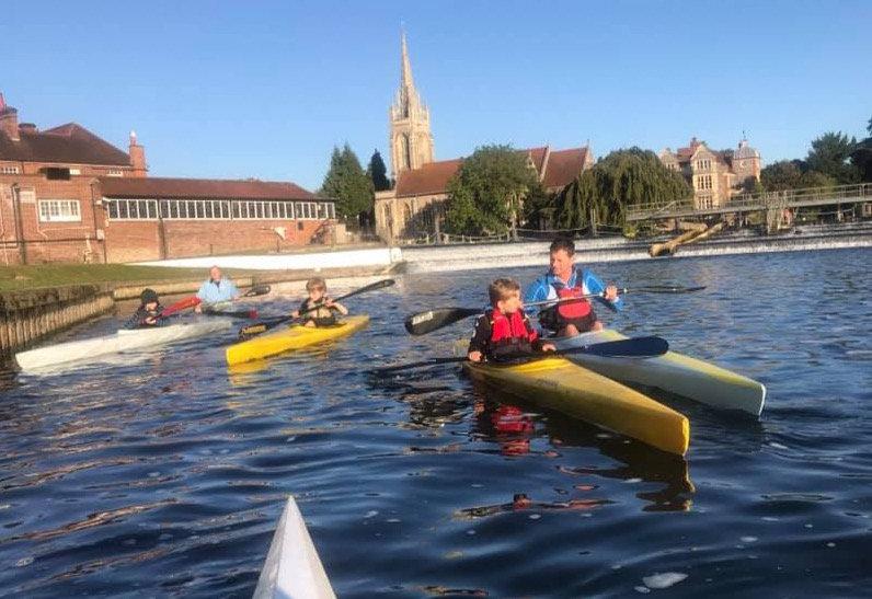 Start Award - age 12-16 Racing Kayak