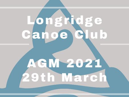 Announcement of Club AGM