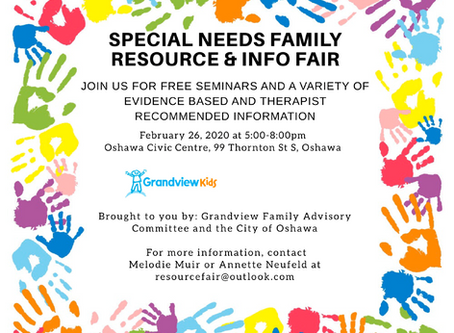 Special Needs Information and Resource Fair