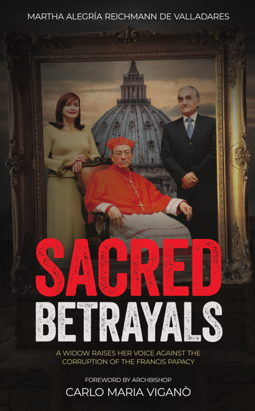 Sacred Betrayals paperback front cover i