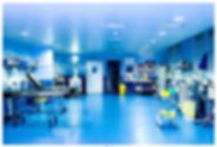 Salle de réveil Clinique du Mousseau
