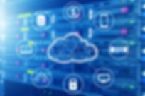 Cloud technology connected all devices w