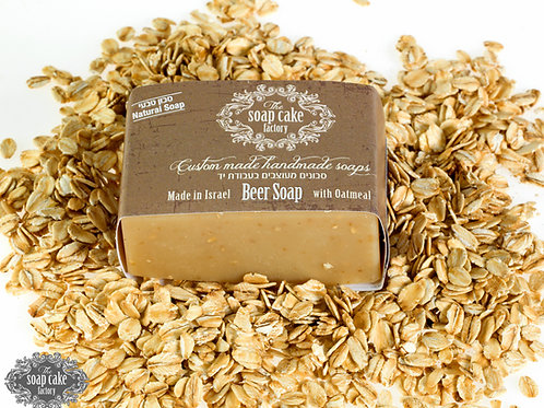 Olive oil beer soap
