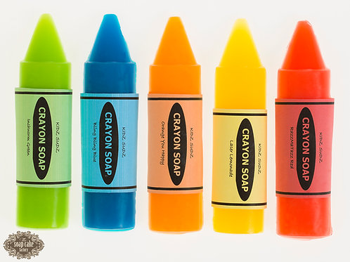 Crayon - Crayon-shaped soap