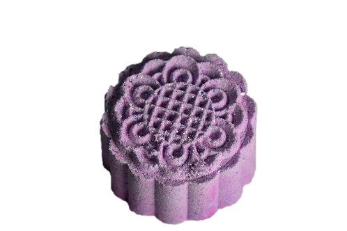 פצצת אמבטיה בריח בושם אנג'ל בצבע סגול