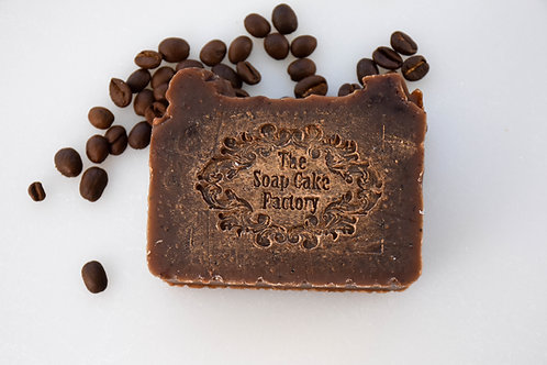 Olive oil coffee soap