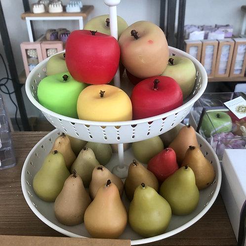 סבון בצורת תפוח