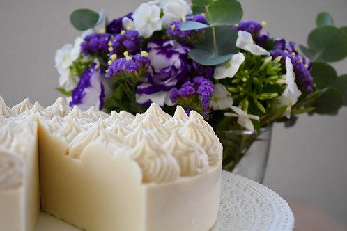 פרוסת עוגת גבינה - סבון