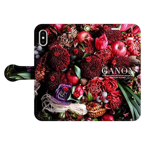 GANON FLORIST PHONE(ケータイケース手帳型6)