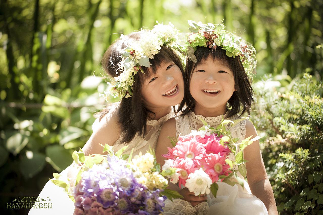 HANANINGEN FLOWER GIRL