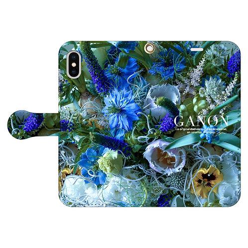 GANON FLORIST PHONE(ケータイケース手帳型8)