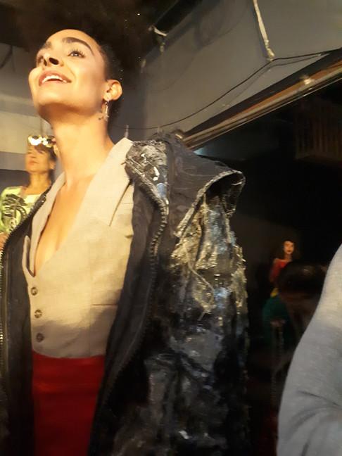 Black Hoodie Jacket by Cactus Man