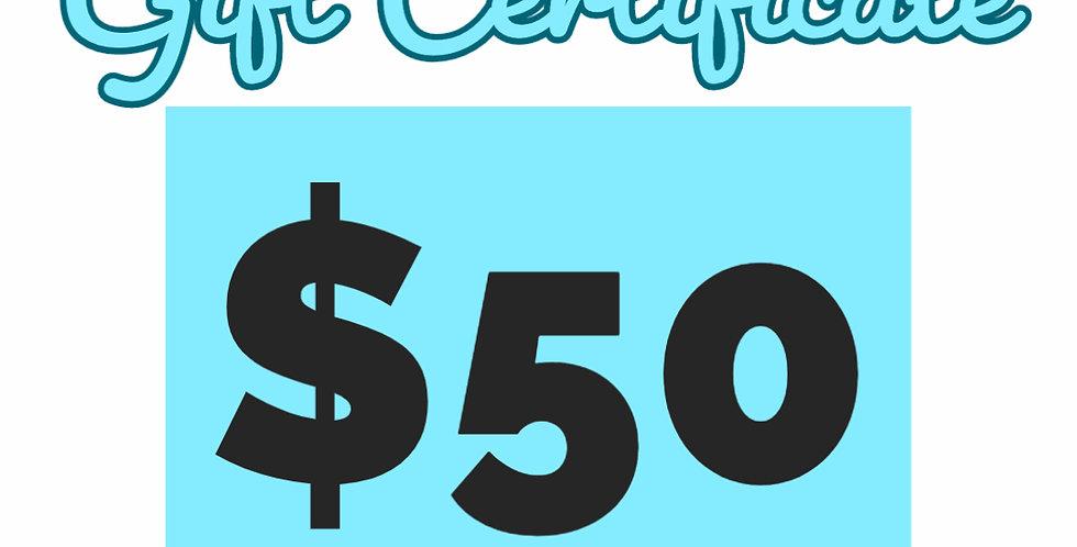 Bikini Hut $50 Gift Card