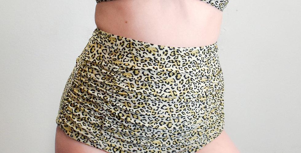 Cheetah High Waisted Bikini