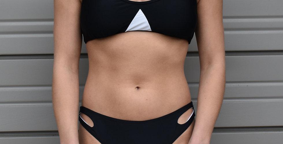 Black Racerback Bikini