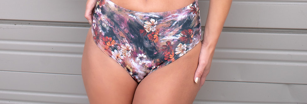 RUSTIC FLORAL HIGH WAISTED Bottom