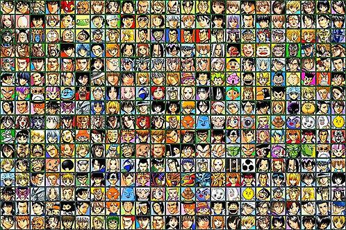Coaster Manga ultimate profiles set