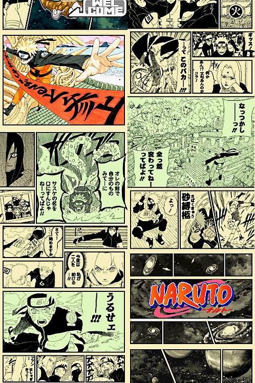 Coaster Manga Naruto Set