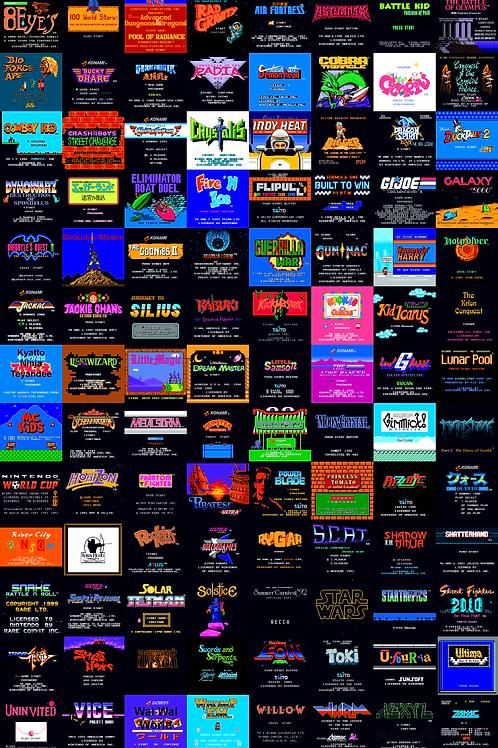 Nes title screens